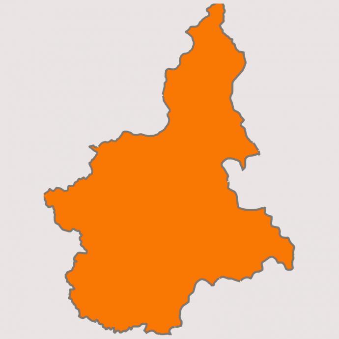 Regione Piemonte Cartina Politica.Regione Piemonte Area Arancione Comune Di Cerano